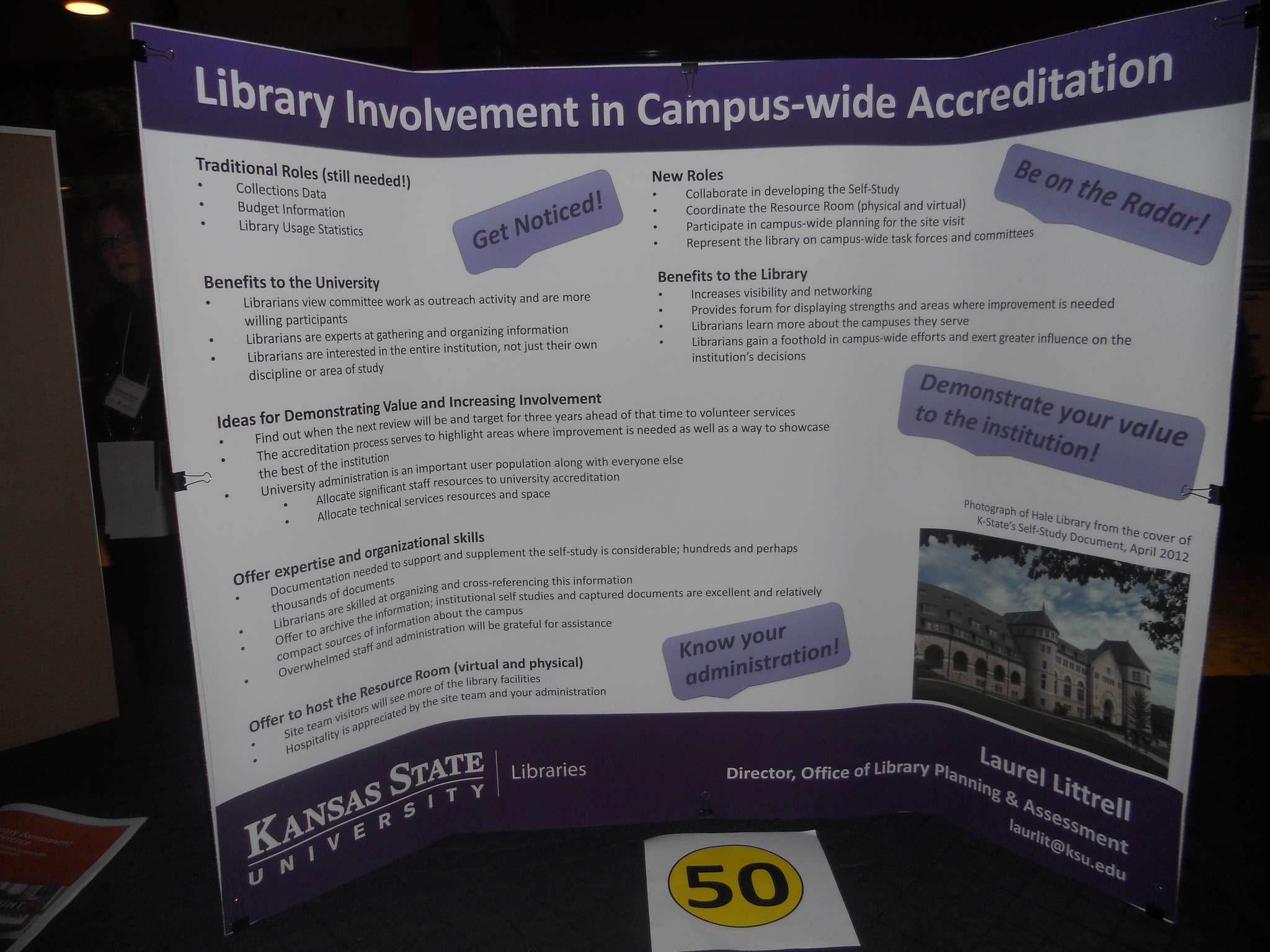 2012 poster presentations library assessment conference laurel littrell kansas state university fandeluxe Choice Image